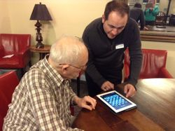 Lexington SC Seniors Learn about iPad