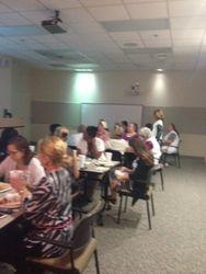 Agape Hospice Teaches CEU at Lexington Medical