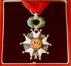 Knight of the Order of the Legion of Honor of the Republic of France