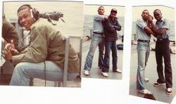Ben Whitney, Darron Savage, and Me