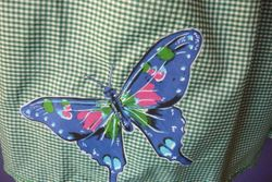 Gingham buterfly