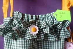 Sunflower ruffle
