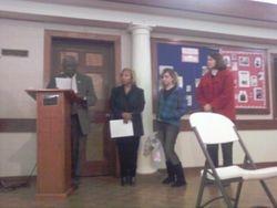 Presentation of  Wellness & Volunteerism Awards