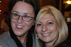 Celine Pitre and Lucie Salvoni Audi