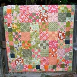Kaffe Fassett pattern quilt
