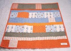 Heather Ross Goldfish quilt