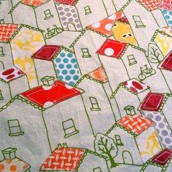 Fabric Applique on L. Cameron Fabric