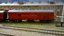 Midland Royal Mail Train with net.