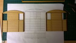 Construction of Loco End Panels.