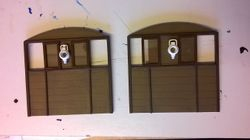 Two Completed Loco End Panels.