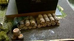 More barrels.