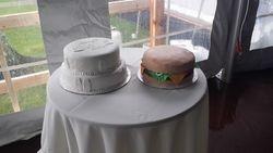 Wedding & Grooms Cake