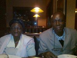 APOSLE CLEM AND MAMA ROSELINE OGORO