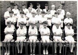 Athletics team ~1970?