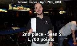 2nd place - Sean S.