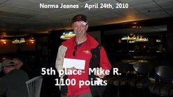 5th place - Mike R.