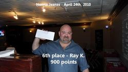 6th place - Ray K.
