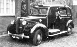 Bell Punch 'GM' Type Taximeter Fitted to a 1954 Austin FX3 Cab.