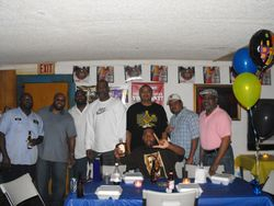 Lodge members @ party.