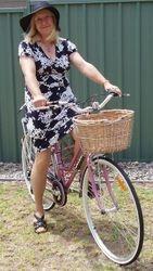 Myra and Rosie Bike