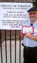 Pastor Barry Davis Sr Visa approved or Pakistan Trip