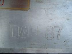 1987 DAP GREYHOUND