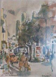 Rue de la Porte (avant le tram)