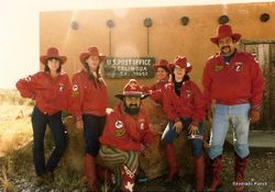 1983 - 1985 TERLINGUA CHILI TEAM
