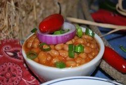 Texas baked beans