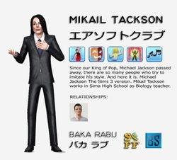 Michael Jackson look like, Mikail Tackson