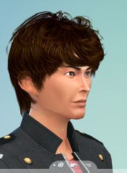 Old Tetsuo Kurata Sims 4 version by me