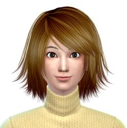 Kagamine Rin sims 4 version