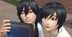 Ai-Chan and Eiji-Kun