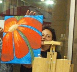 Painting Class Photos