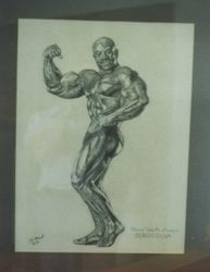 SOLD: Drawing body builder