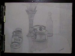 Still life, Kitchen Table