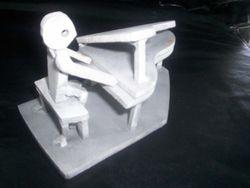 Male piano player