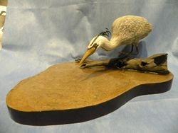 Miniature Blue Heron