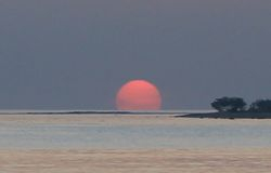 Sunrise on Kalkudah Beach