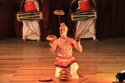 Traditional Dance performance Kandy