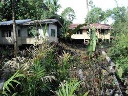 Rumah masih elok di Long Jawe