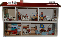Lerro dollhouse from the 50´s