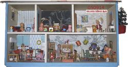 Micki dollhouse from late 50´s