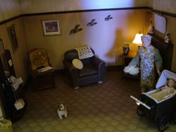 Wartime House sitting room