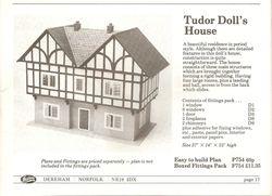 Hobbies Tudor Doll's House 754