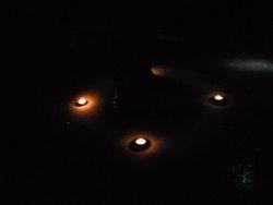 Odd Mists Around Candles