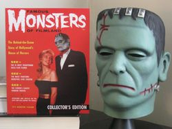 Famous Monsters #1 Frank Mask - D. Vidaurri