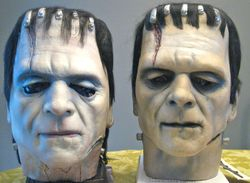 Original DP Karloff Frankenstein and '98 reissue