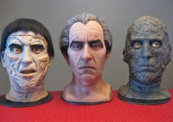 Complete set of Carol Hicks's Chris Lee Busts