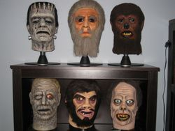 "Don Post ""Calendar"" Masks"